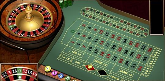 table de roulette de casino anglaise
