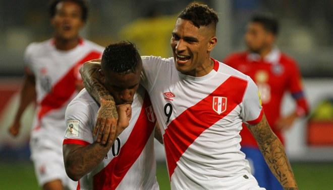 Farfán et Guererro 2 joueurs dans le groupe de la mort Pérou