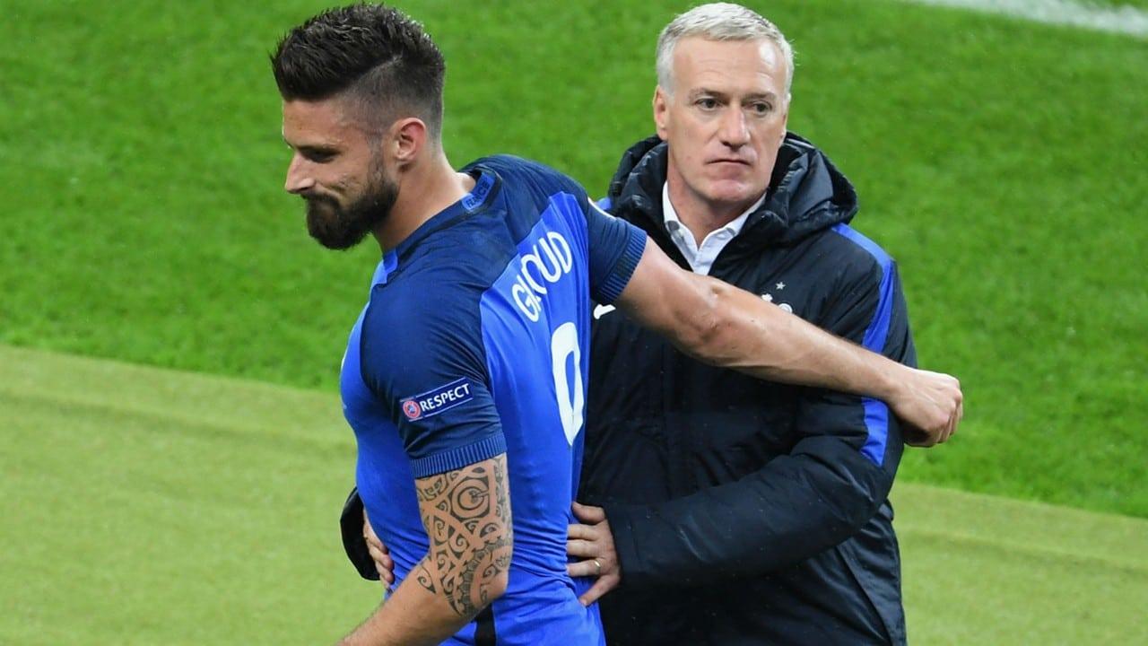 Olivier Giroud a toujours eu la confiance de Didier Deschamps, sera-il décisif lors de la Coupe du Monde Russe