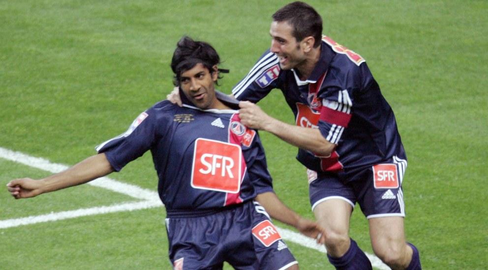 Dhorasoo auteur d'une excellente saison en 2006 avec Pauleta