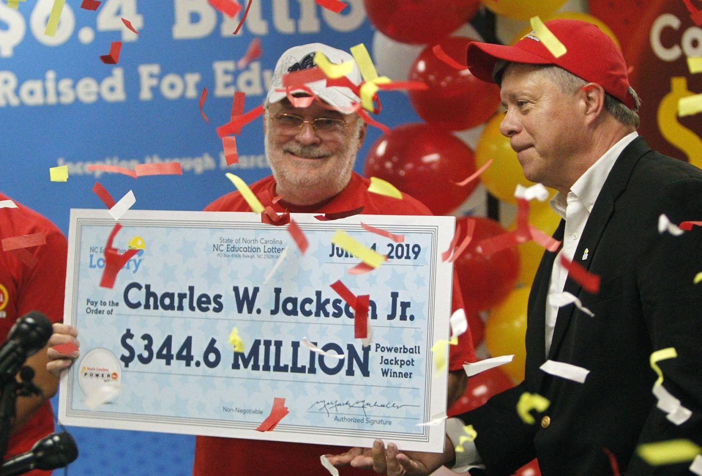 Charles Jackson gagnant de 305 Millions d'euros à la loterie Powerball le 4 juin