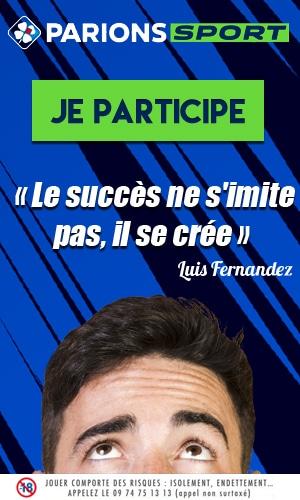 Le succès ne s'imite pas, il se crée Luis Fernandez