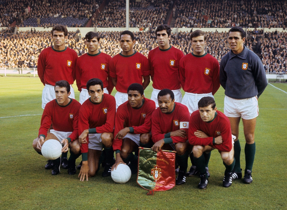 Eusebio-et-le-Portugal-Football-en-1966