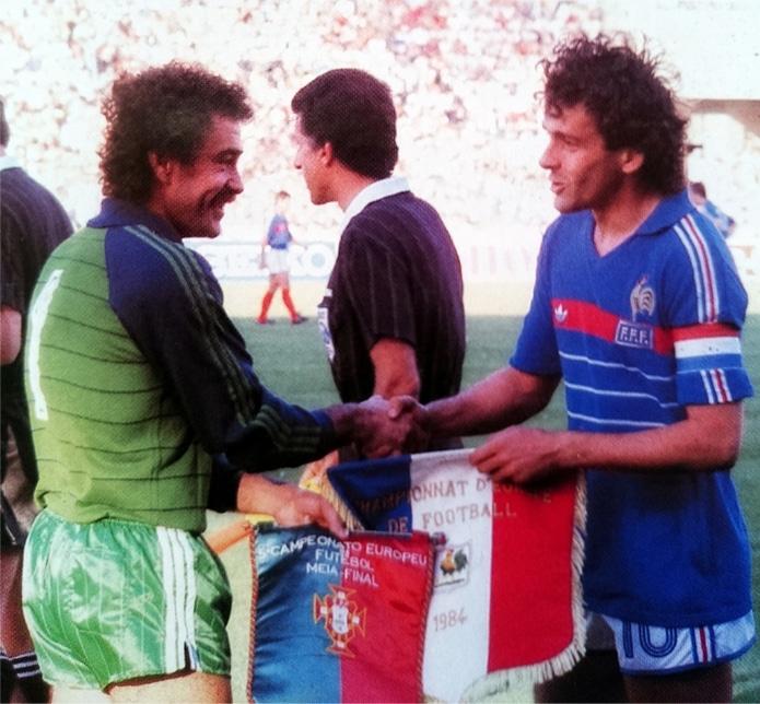 FRANCE-PORTUGAL-1984-Bento-et-Platini