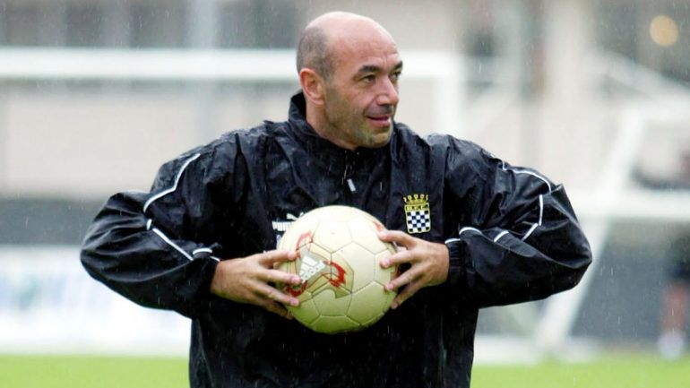 JAIME PACHECO entraîneur de BOAVISTA FC