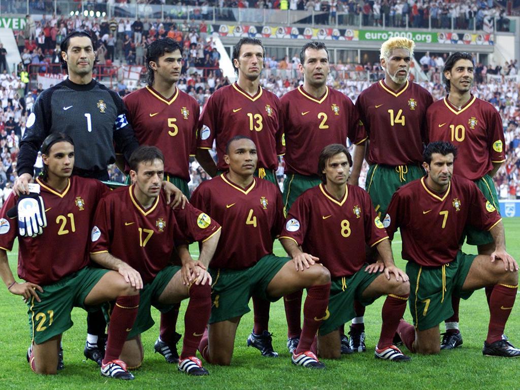 Portugal EURO 2000 équipe