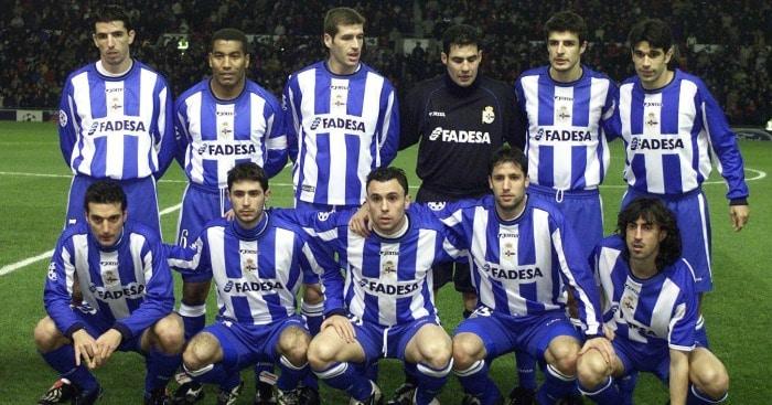 Deportivo La Corogne 2002 LDC